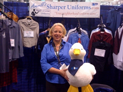 Aflac Duck At New England Food Show