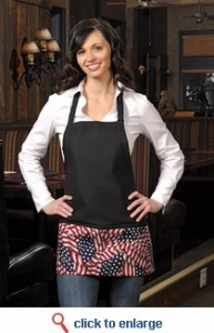 American-made aprons at SharperUniforms.com