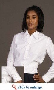 roll up long sleeve blouse sharper uniform
