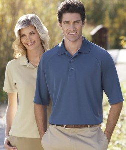 Moisture Management Polo Shirts | SharperUniforms.com