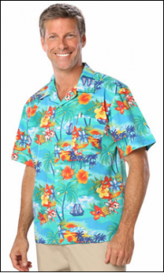 Tropical Uniform Shirts