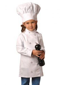 kids white chef jacket and coat